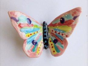 Pottery Butterfly