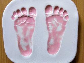 Pink Foot Print