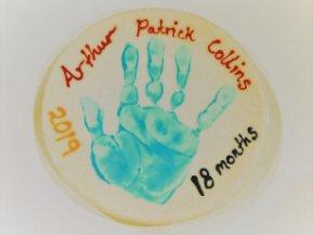 Hand Print Plate
