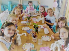 Kids Pottery Parties