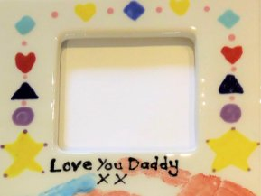 Hand Print Picture Frame